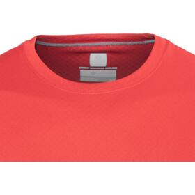 Columbia Zero Rules Camisa Manga Corta Hombre, red spark